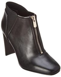 Tahari - Gally Leather Bootie - Lyst