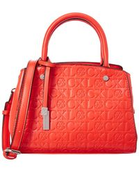 CXL by Christian Lacroix - Anabelle Embossed Satchel - Lyst
