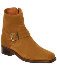 Frye - Hannah Suede Engineer Boot - Lyst