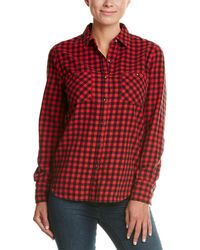 True Religion - Plaid Utility Top - Lyst