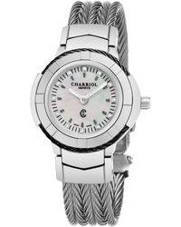Charriol - Celtic Diamond Watch - Lyst