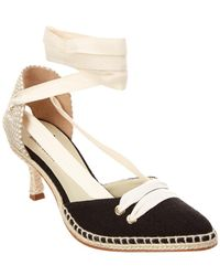 Manolo Blahnik - Castaner By By Day Canvas Pump - Lyst