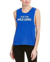 Sam Edelman - Graphic Muscle Tank - Lyst