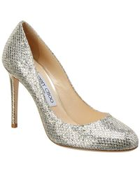 Jimmy Choo - Bridget 100 Glitter Pump - Lyst