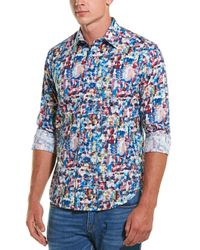Robert Graham - Babsdale Classic Fit Woven Shirt - Lyst