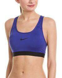 853eeb0c8b Lyst - Nike Indy Soft Bra in Brown