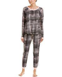 Kensie - 2pc Pyjama Pant Set - Lyst