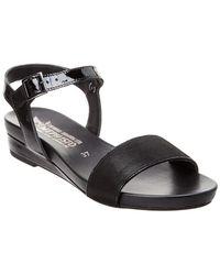 Mephisto - Gaetana Patent & Leather Sandal - Lyst