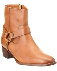 Frye - Dara Harness Leather Boot - Lyst