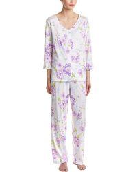 Carole Hochman - 2pc Pyjama Pant Set - Lyst