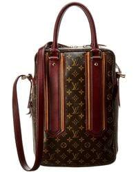 Louis Vuitton - Limited Edition Monogram Bequia Canvas Porte Documents Vertical - Lyst