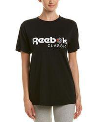 Reebok - Classic Logo Cotton Jersey T-shirt - Lyst