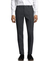 John Varvatos - Collection Side Seam Zipper Trouser - Lyst
