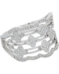 Diana M. Jewels - . Fine Jewellery 14k 0.40 Ct. Tw. Diamond Ring - Lyst