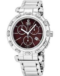 Fendi - Selleria Chronograph Watch - Lyst