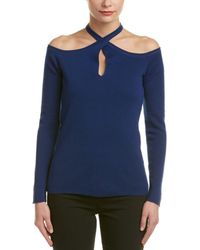 Elie Tahari - Wool Sweater - Lyst