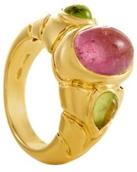 BVLGARI | Bulgari 18k Gemstone Ring | Lyst