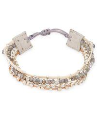 Chan Luu - Multilayered Beads Bracelet - Lyst