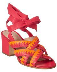 Pour La Victoire - Anisa Leather Sandal - Lyst