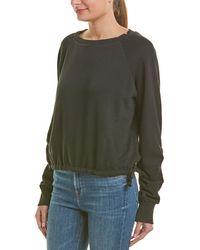 LNA - Cinched Sweatshirt - Lyst