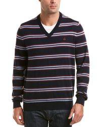 Brooks Brothers - Lacoste V-neck Merino Sweater - Lyst