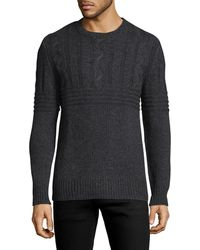 Slate & Stone - Ribbed Cable Knit Jumper - Lyst