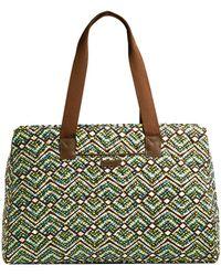 Vera Bradley - Rain Forest Triple Compartment Travel Bag - Lyst