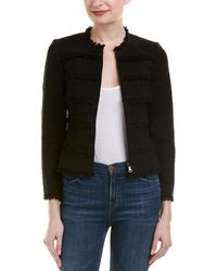 Rebecca Taylor - Textured Tweed Jacket - Lyst