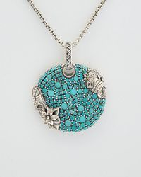 Stephen Dweck - Aurora Silver Turquoise Necklace - Lyst