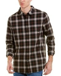 AG Jeans - Plaid Button Down Top - Lyst