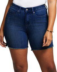 NYDJ Shape Slim Straight Gladi Short - Blue