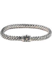 Samuel B. - 18k & Silver Bracelet - Lyst