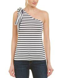 da37c123c41782 Trina Turk - Alameda One-shoulder Top - Lyst