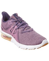 newest collection c7413 1abbb Nike - Air Max Sequent 3 (light Cream crimson Tint white string