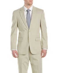 Kroon - Boone Poplin Suit With Flat Pant - Lyst