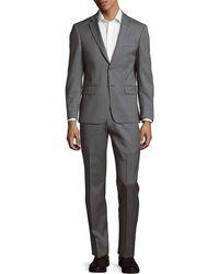 John Varvatos - Textured Wool Suit - Lyst