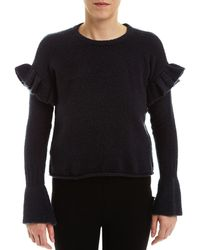 Romeo and Juliet Couture - Ruffled Jumper - Lyst