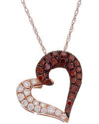 Le Vian - ? 14k Rose Gold 0.38 Ct. Tw. Diamond Necklace - Lyst