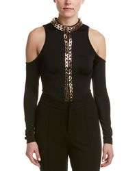 Wow Couture - Cold-shoulder Bodysuit - Lyst