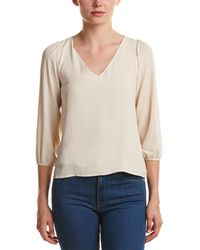 19 Cooper - Layered Lace Back Top - Lyst