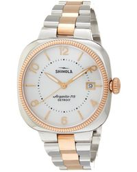 Shinola - Gomelsky Stainless Steel Watch - Lyst