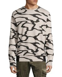 Twenty - Printed Crewneck Sweater - Lyst