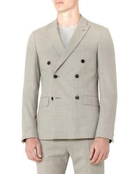 Reiss - Lidder B Slim Fit Wool Jacket - Lyst