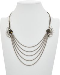 DANNIJO - Phoebe Quilted Necklace - Lyst