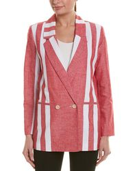 Badgley Mischka - Blazer - Lyst