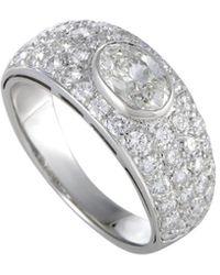 BVLGARI - Bulgari 18k White Gold 1.60 Ct. Tw. Diamond Ring - Lyst