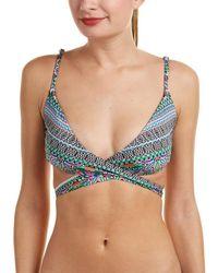 Laundry by Shelli Segal - Wrap Bikini Top - Lyst