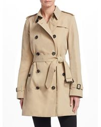 Burberry - The Chelsea Mid-length Trench Coat - Lyst