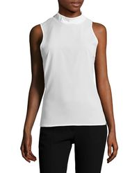 French Connection - Polly Mockneck Top - Lyst