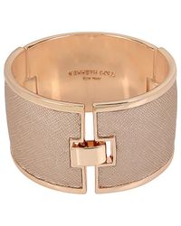 Kenneth Cole - Salt Mines Leather Bracelet - Lyst